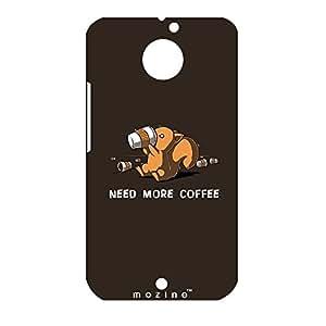 Mozine Coffee Lover printed mobile back cover for Motorola Moto X 2nd gen