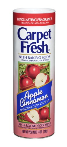 Carpet Fresh 277119 Rug and Room Deodorizer with Baking Soda 14 oz Apple Cinnamon Fragrance (Pack of 12) (Cinnamon Soda compare prices)