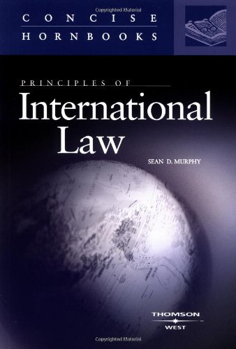Principles of International Law (Concise Hornbooks)