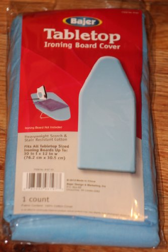 bajer table top replacement ironing board cover and pad