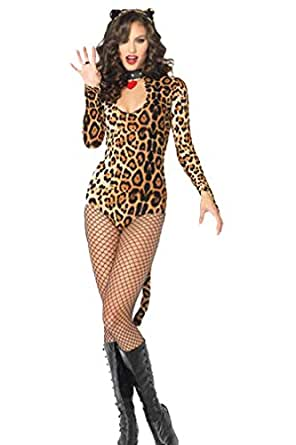 Moonight Women's Leopard Cougar Adult Costume