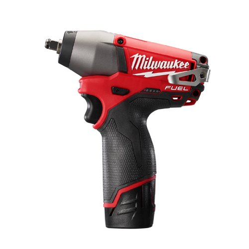 Milwaukee 2454-22 M12 Fuel 3/8 Impact Wrench Kit W/2 Bat (Milwaukee Tools Fuel Kit compare prices)