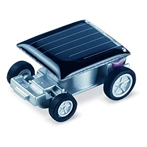 World's Smallest Solar Powered Car Only $1.95 – FREE Shipping