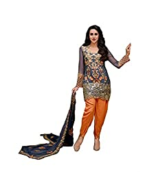 Sparsh Fashion Semi-stitched Patiala Suit