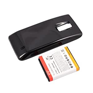 Extended 3800mAh Battery and Back Cover For LG Spectrum 4G LTE VS920 Verizon
