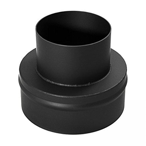 raik-18011107-Rauchrohr-Ofenrohr-Reduzierung-180mm-120mm-schwarz
