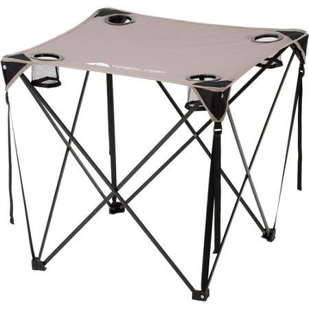 ozark-trail-28-square-table-top-w-4-mesh-cup-holders-durable-portable-folding-sets-up-in-seconds-per