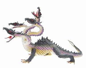 Plastoy - Dragon - Green and Purple Hydra