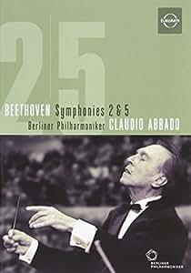 Berliner Philharmoniker/Claudio Abbado: Beethoven - Symphonies 2 & 5 [Import]