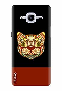Noise Designer Printed Case / Cover for Samsung Galaxy J2 - 6 (New 2016 Edition) / Comics & Cartoons / Tribal Cat Design