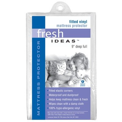Buy Cheap Levinsohn Fresh Ideas Vinyl Fitted Mattress Protectors, Twin