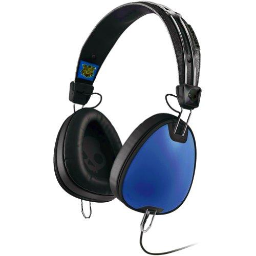 Skullcandy Aviator With Mic3 Premium Wired Headphone - Royal Blue/Black / One Size