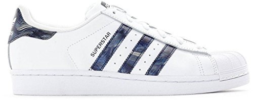 Adidas SUPERSTAR W womens fashion-sneakers BB3002_9.5 - Running White Ftw/Running White Ftw/NINDIG