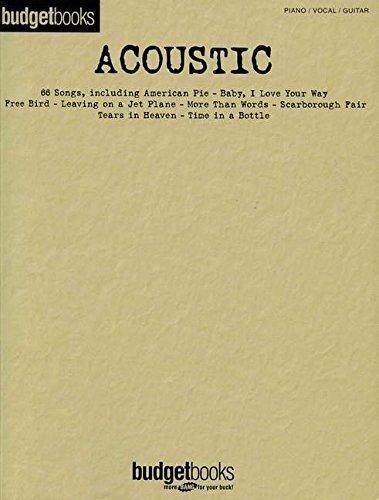 Budgetbooks acoustic pvg (Budget Books Pvg)