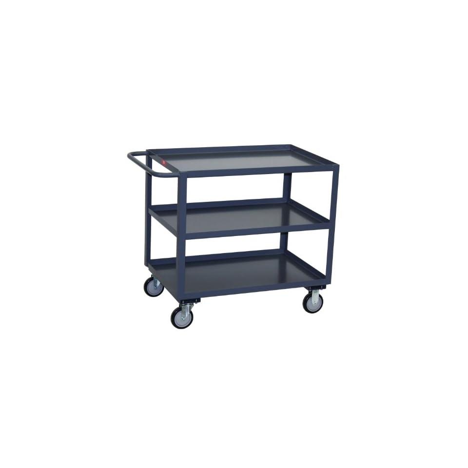 Jamco Products Inc SC472 U5 GP Three Shelf Service Cart, 1200 Pound Capacity, 36 x 72