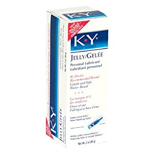 K-Y Personal Lubricant Jelly 2 oz