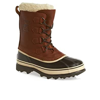 SOREL Men's Caribou Wool Winter Boots 11 TOBACCO | Amazon.com