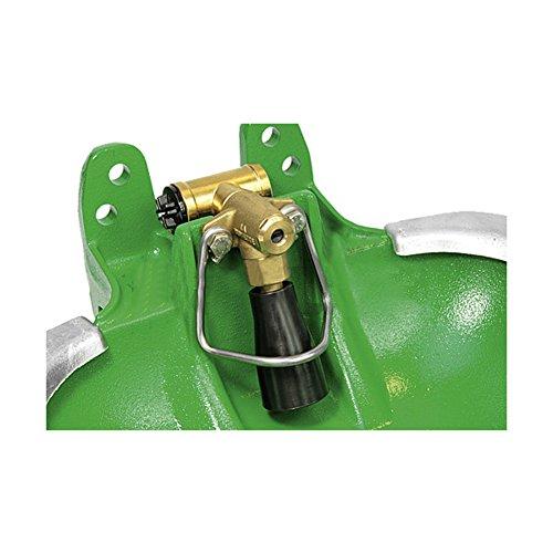 tubo-valvola ciotola f60, ciotola coatedcast di plastica, valvola in ottone 3/4 - 383060
