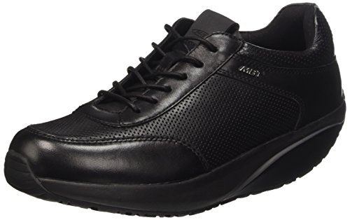 MBT Kioja 6 Lace Up Scarpe Low-Top, Donna, Nero, 37