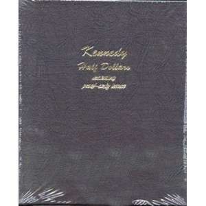 Dansco 8166 Kennedy Half Dollars w/ Proof Album