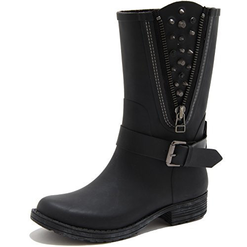 84466 stivale pioggia COLORS OF CALIFORNIA BORCHIE scarpa donna boots shoes wome [36]