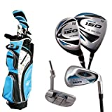 Masters MC-Z150 Men's Right Hand Graphite Hybrid C/P 1 X C/Bag 9 Inch - Black/Blue