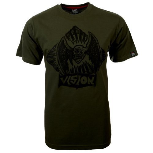 Vision Street Wear Flying Skull T-Shirt , beetle