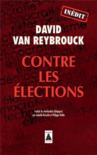 Contre les élections de David Van Reybrouck télécharger