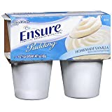 Ensure Nutritional Pudding Homemade Vanilla, 4-4 oz, Pack of 5