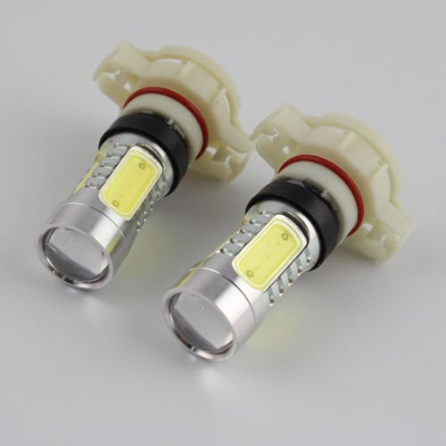 Unihandbag H16 5202 Cree Cob 2Pcs White Led Replacement Bulbs For Fog Daytime Lights Ca3 Cb