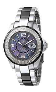 Invicta Mother-Of-Pearl Dial Diamond Men's Watch 4655