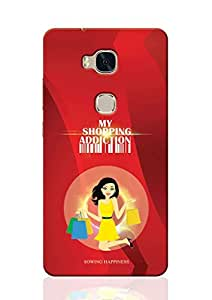 Sowing Happiness Back Cover for Huawei Honor 5x