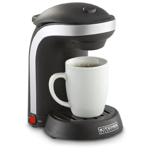 get kitchen selectives single drip coffee maker with mug at coffee rh coffeemakerworld net kitchen selectives coffee maker filter kitchen selectives coffee maker filter