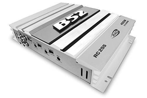 B52CarAudio RACE RC-255 SILVER 400Watts MOSFET AMPLIFIER