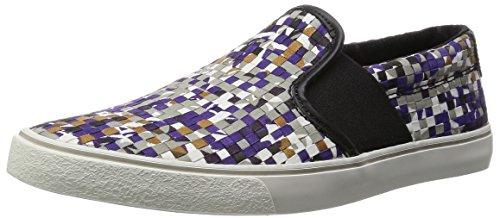 ClarksGosling Step - Slip On con Imbottitura Leggera Uomo , Viola (Violett (Purple Combi)), 46