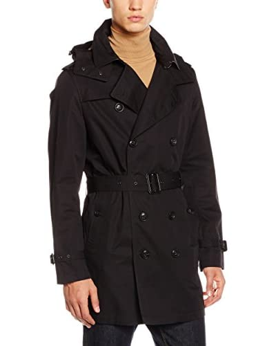 Burberry Trench Negro