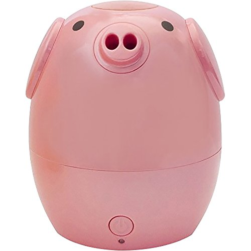 GreenAir Creature Comforts Kids Essential Oil Aroma Diffuser & Humidifier (Rosie the Pink Pig)