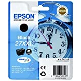 Epson Alarm Clock No.27XXL Extra High Capacity Ink Cartridge - Black