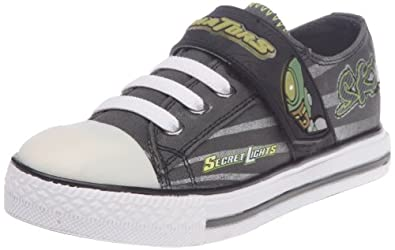 SKECHERS Kids' Roswell Pre/Grd (Charcoal/Lime 3.0 M)