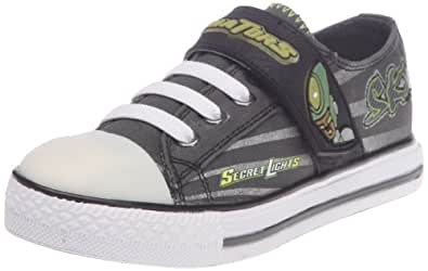 SKECHERS Kids' Roswell (Charcoal/Lime 3.0 M)