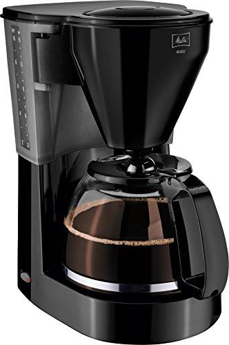 Melitta-1010-02-bk-Easy-Kaffeefiltermaschine-Glaskanne-Tropfstopp-Schwenkfilter-schwarz