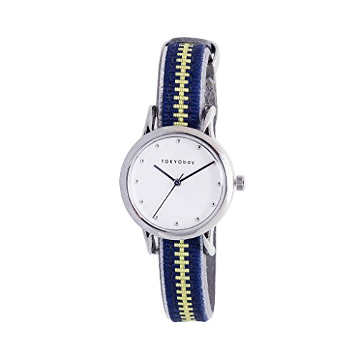 tokyobay-t623-nv-womens-stainless-steel-navy-leather-band-white-dial-smart-watch