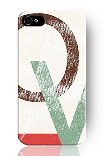 Sprawl New Fashion Design Hard Skin Case Cover Shell For Mobilephone Apple Iphone 5 5S--Simple Love Letter