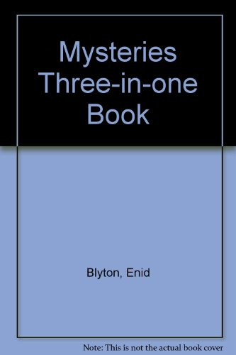 Mysteries Three-in-one Book