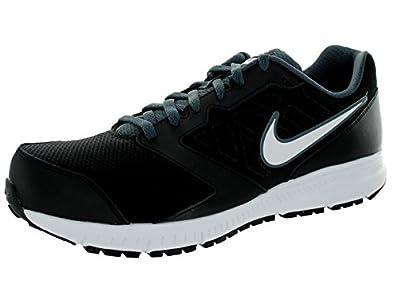 Nike Men's Downshifter 6 Black/White/Dk Magnet Grey Running Shoe 7.5 Men US