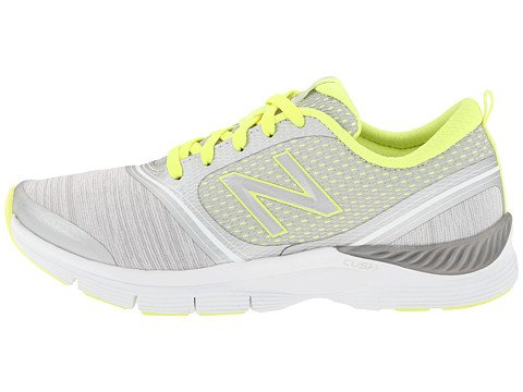 888098214116 - New Balance Women's 711 Heather Cross-Training Shoe,Grey/Yellow,11 B US carousel main 2