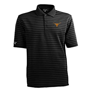 Texas Longhorns Antigua Mens Elevate Polo by Antigua