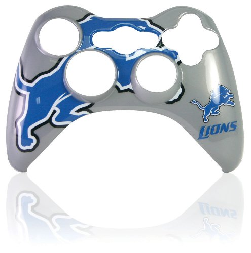 Xbox 360 Official NFL Detroit Lions Controller Faceplate