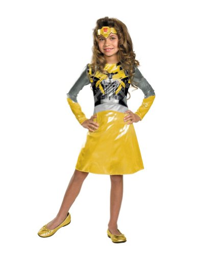 Bumblebee Girl Child Costume 4-6 Kids Girls Costume