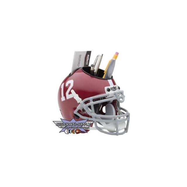 Alabama Crimson Tide Mini Helmet Desk Caddy (Quantity of 1)